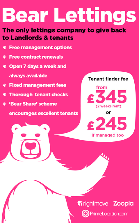 Bear Letting Agents Banner